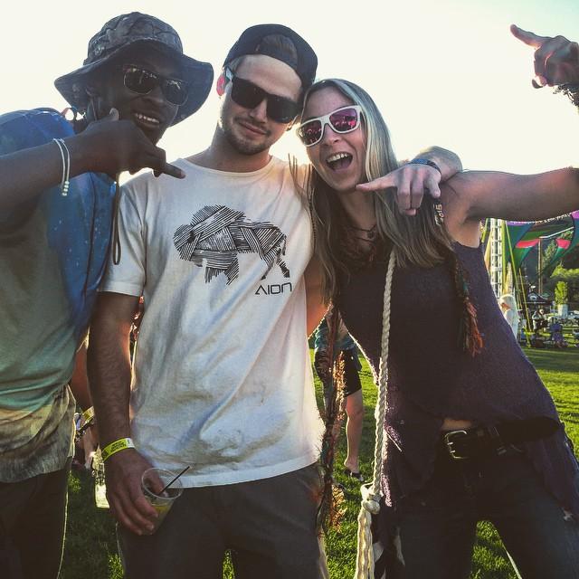 Festival season has begun! #AV7renegades @thabyron_ma @camfitzpatrick and @kyehalpin celebrate at the @contourfestival in Jackson this weekend. #avalon7 #partytime www.avalon7.co