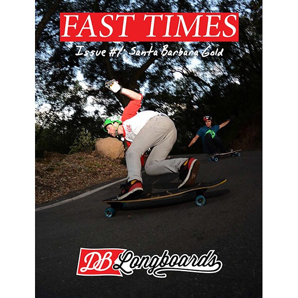 "We just released the first issue of our new mini-magazine titled ""Fast Times""  Follow the link in our bio to checkout the full issue. #longboard #longboarding #longboarder #dblongboards #goskate #shred #rad #stoked #skateboard #skateeveryday"