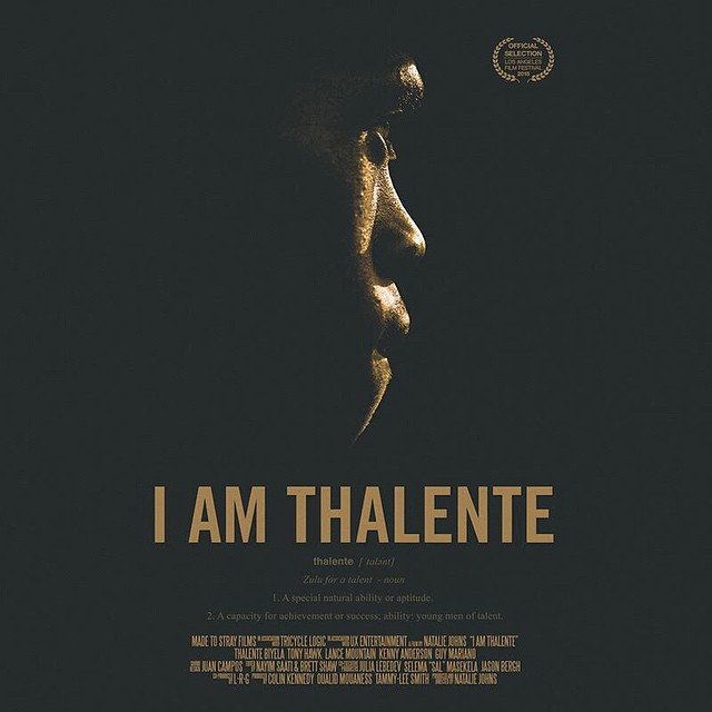 "Skateboarding can change lives. If you're in Los Angeles this evening please come out to the official premiere of the documentary film ""I Am Thalente."" Thalente's (@iamthalente) life story is inspiring to say the least; from being a homeless child on..."