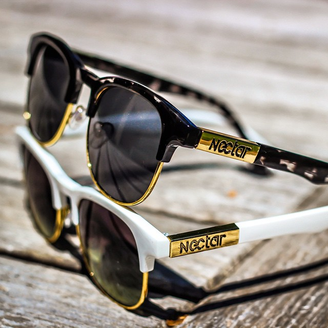 Two of our newest styles. The Growler and The Toke || #nectarsunnies #thesweetlife photo @billybjork