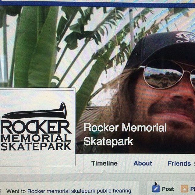 We are so stoked the #RockerSteveMemorialSkatepark is going to happen. I think Rocker would never have expected to be remembered like this, and I want to thank everyone who supported this. #forridersbyriders
