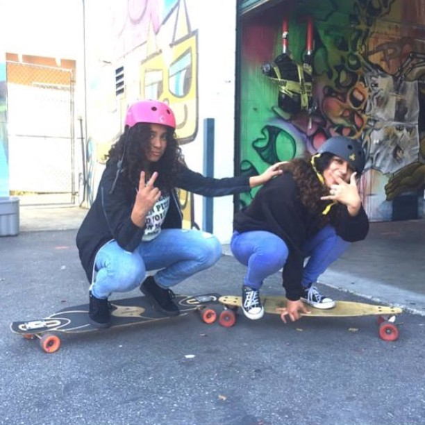 This is how we roll. #skate #skateboard #skateboarding #skater #skatergirls #sk8 #streetskate #skatelife #skatestyle #citylife #losangeles #la #youth #community #friends #happiness #smiles #peace #streetart #graffiti #mentor #volunteer #sunshine...
