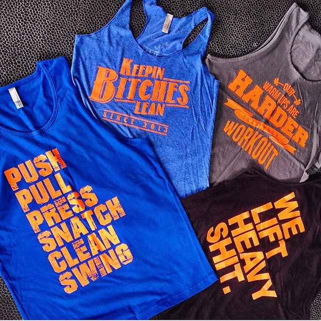 Our latest creation for Strength RX Crossfit @srxcrossfit.  Are you looking for custom tees for your gym or group? Contact us for pricing.  Graphics by @daveezy_ for @flipsidefresh #flipsidefresh #fsf #fitness #crossfit #fit #fitgirl #girlswholift #gym...