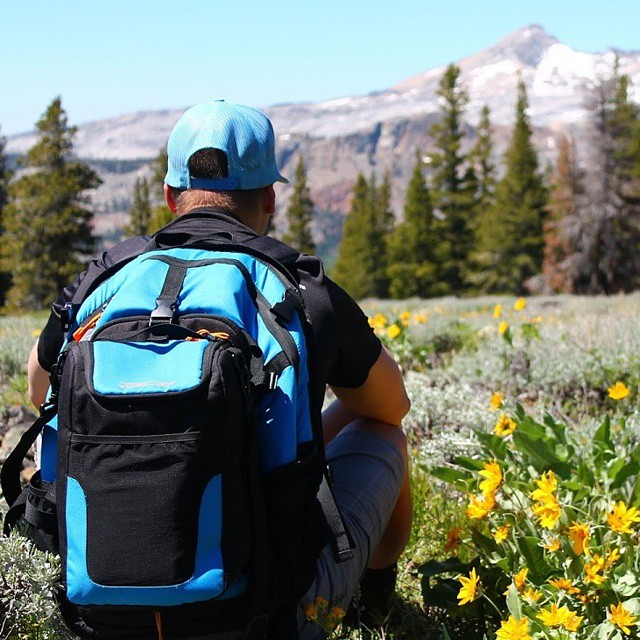 Peaceful meadow gazing towards Pyramid Peak.  Doesn't this look like a nice place to be right now? #laketahoe #meadows #summer #hiking #getoutdoors #backpacks #coolers #graniterocx
