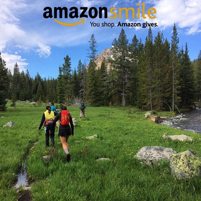 We're on Amazon Smile! 0.5% of eligible #AmazonSmile purchases can be donated to ASC, in support of our mission to drive #conservation worldwide, one adventure at a time.  Save the world while you shop.  #adventurescience