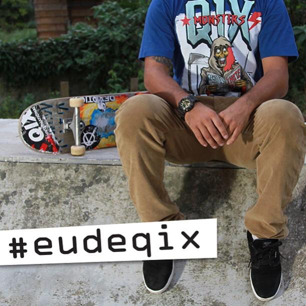 No bowl, na minirrampa ou nos picos de rua a QIX está sempre marcando suas sessões. Aproveite para marcar seu Go Skate Day também. No Dia Mundial do Skate tire uma foto, publique e marque a #eudeqix. A foto mais criativa ganhará um kit com produtos...