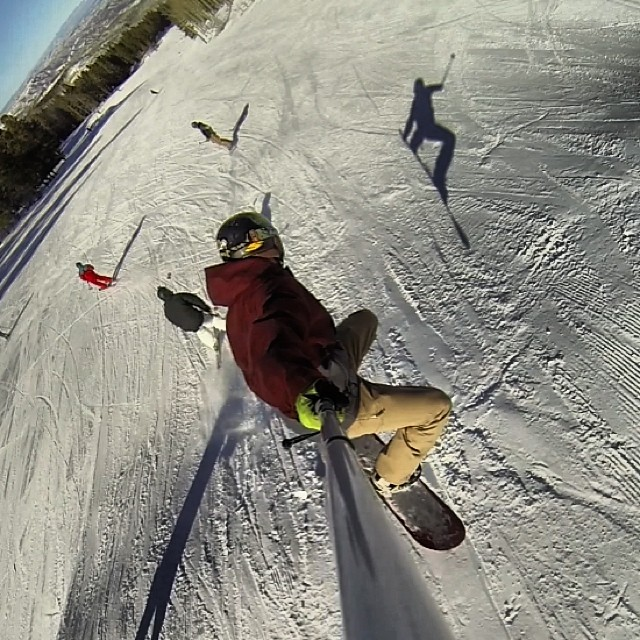 Hang Time with @mcelberts @aspensnowmass @gopro #gopole #xgames #gopro #shredlife