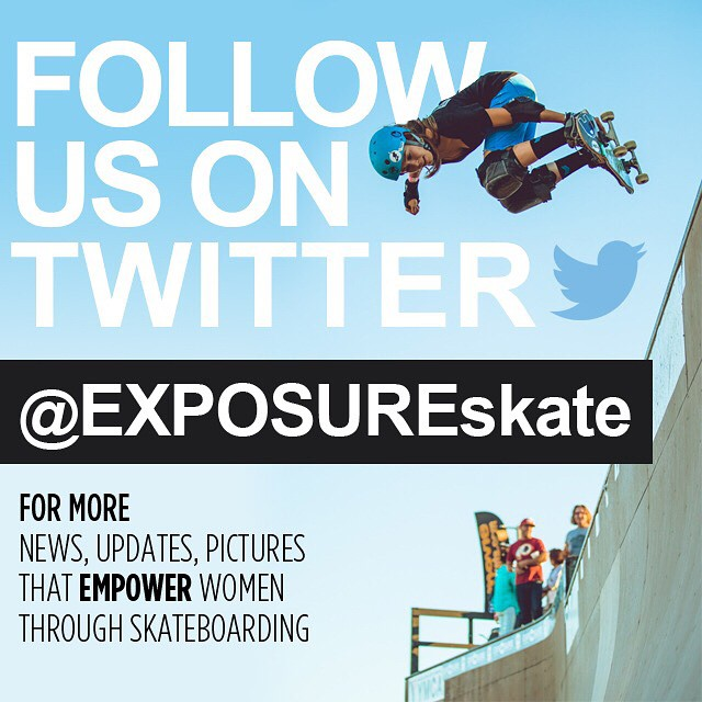 Follow us on Twitter for more news, updates and content on all things Exposure! Link in bio.