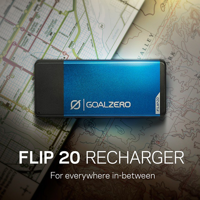 You asked for more power so here it is! From the street to the trail the Flip 20 will keep you charged. Follow the link in our profile to learn more. #GetOutStayOut