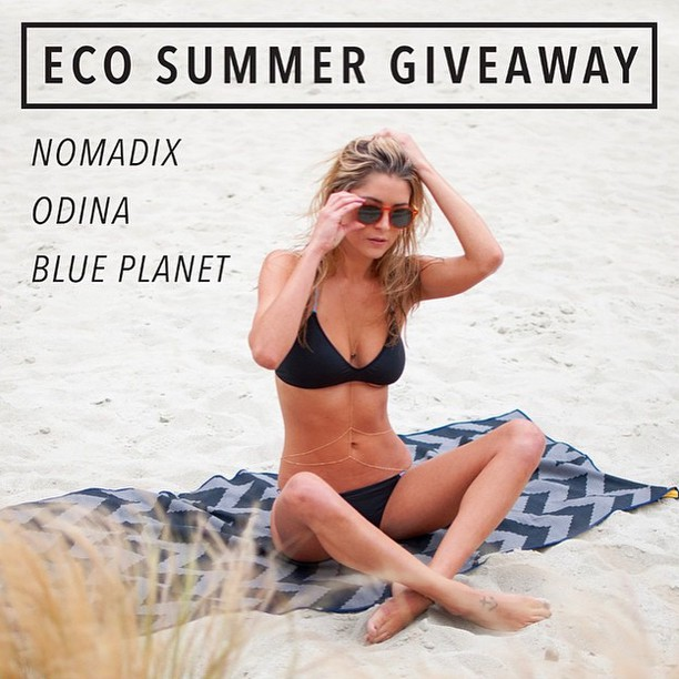 ♻️ Eco Summer Giveaway and Photo Contest!  We have curated the best eco-friendly items for the Summer in this package giveaway -