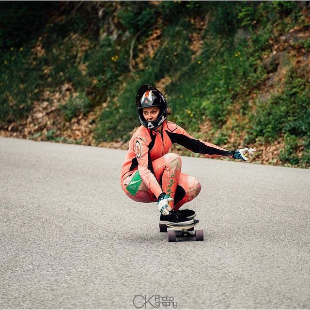 @glorifiziert, LGC Austria Ambassador is such a badass.  Good times in #alpenrauschen  CK Photography photo.  #longboardgirlscrew #womensupportingwomen #girlswhoshred #skatelikeagirl #gloriakupsch #austria #lgcaustria