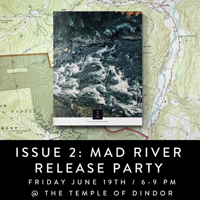 Please join us to celebrate the release of this epic issue. Some chipping and cocktails RSVP for directions. Truly amazing work from all involved.  We are honored to be included and to share the pages with such authentic people.