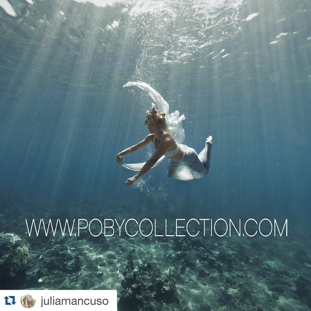 #Regram @juliamancuso ・・・ The talented @thepoby is now selling all prints to benefit @hi5sfoundation  including a series of pictures shot underwater in beautiful Fiji. Check out  Pobycollection.com✋