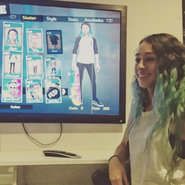 @lizziearmanto in the new @tonyhawk pro skater 5 video game! Thank you, Lizzie, for inspiring future generations with the progress you have made. We are so proud of you! Congratulations to Lizzie and @leticiabufoni who is also a character....