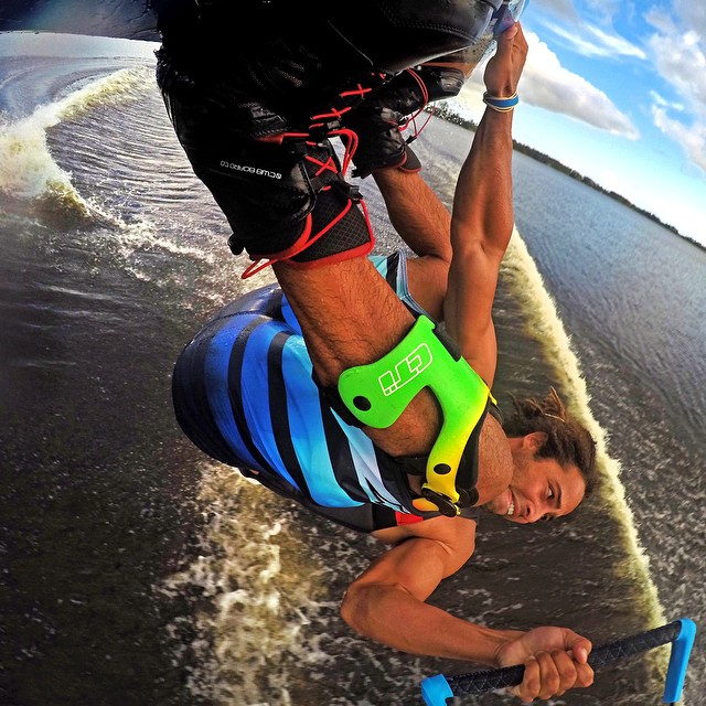 @joshpalma always keeps his board mounted GoPro shots secure using GoPole Hi-Torque Thumbscrews. GoPro HERO4 | Hi-Torque Thumbscrews #gopro #hero4 #gopole #wakeboarding