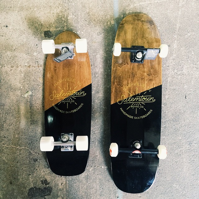 Like father, like son. Let us help you out for Fathers Day. #handmadeskateboard #salemtownboardco #skate #Fathersday #Nashville