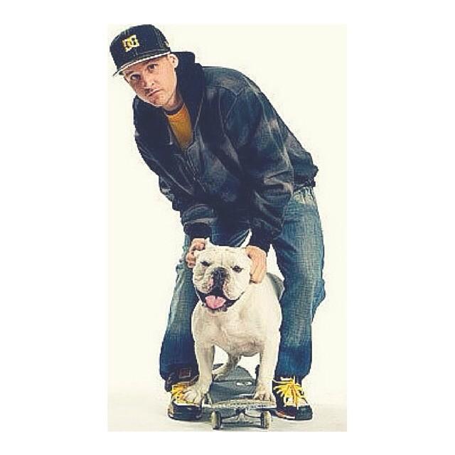 Life is more fun when you have someone to share it with @robdyrdek #robdyrdek #skate #skater #skateboard #skateboarding #skatelife #dog #skatedog #mansbestfriend #fun #skateboardingisfun #skatestyle #dcshoes #animals #love #friends #meaty #happiness...