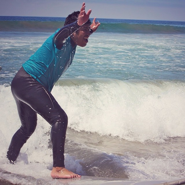 Love this #stokedmoment! #surf #surfer #surfing #surfboard #waves #water #ocean #beach #surfsup #surflife #happiness #joy #confidence #motivation #determination #challenge #youth #community #mentor #volunteer #lifeskills #losangeles #la #citylife...