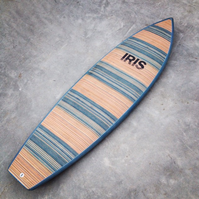 We surf when were not skating and skate when we're not surfing. Check out @iris_surfboards to see our surfboards made from recycled skateboards. #recycledskateboards #irisskateboards #irissurfboards