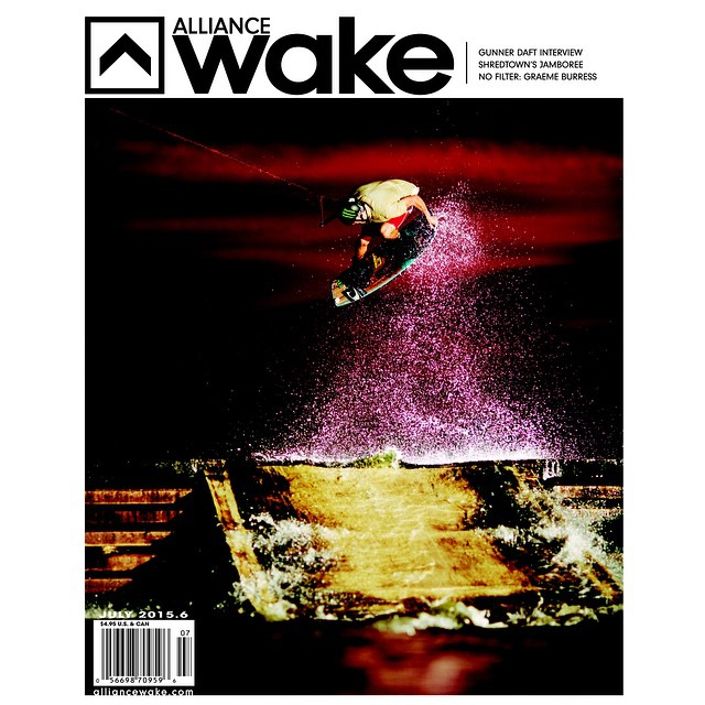 Huge congrats goes out to our German freund @nicovonlerchenfeld for snagging the new @alliancewake cover!  Such a rad shot!