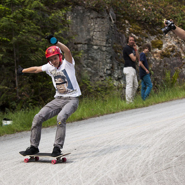 @kurtisscott666 Popping it vertical for #dangerbae at this year's #dangerbay slide jam