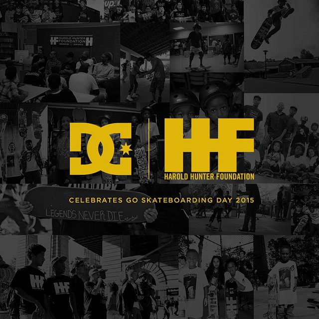 We're proud to be partnering with the @haroldhunterfoundation to celebrate Go Skateboarding Day this Sunday! For 24 hours on June 21st, we'll donate $10 from every pair of skate shoes sold to foundation. For more info visit: dcshoes.com/dcxharoldhunter...