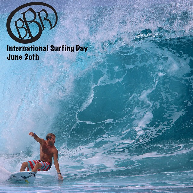 International Surfing Day is a great way to show your love for surfing!  Our teamrider, Granger Larsen, will be in Bali shooting a video.  I am certain that the rest of our team will be surfing too.  I know all of us at BBR will be out surfing our...
