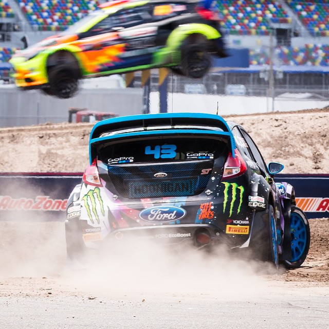 HHIC @kblock43 getting ready for war today at #GRC Daytona!