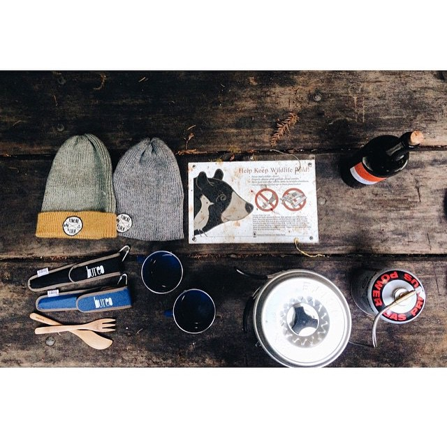 Weekend camping vibes from @tinchoandlola . Stoked on the new Bureo @togoware, bamboo utensils to disconnect you from single use plastics!! #PlasticFree #PushForTomorrow