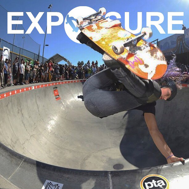 @lizziearmanto shreddin it at Exposure 2014!