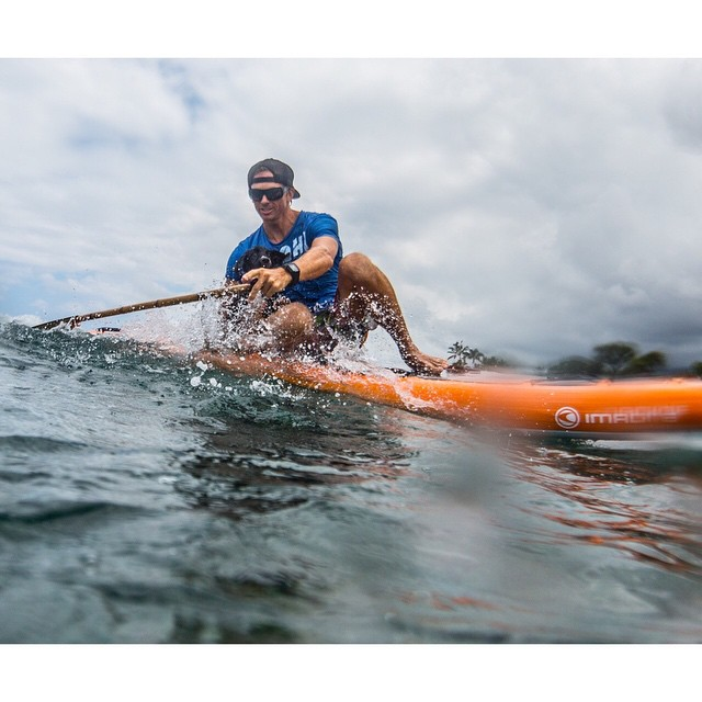 S U P  P U P  First time with little Sunday paddling around captured by @jeffdotson  #imaginesurf #kaenon #aquatech_imagingsolutions #organik #standupjournal #supconnect #bamboopaddle #teambioastin #odinasurf #irideirecycle #artofboard #navitasnaturals...