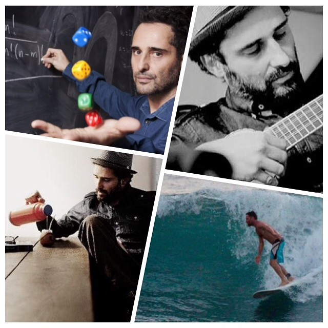 How cooler can you get? Jorge Drexler, what an inspiration. Homeboy is a doctor, musician, surfer, and drinks mate. #doctor #musician #surfer #yerbamate #matecito #therealdeal
