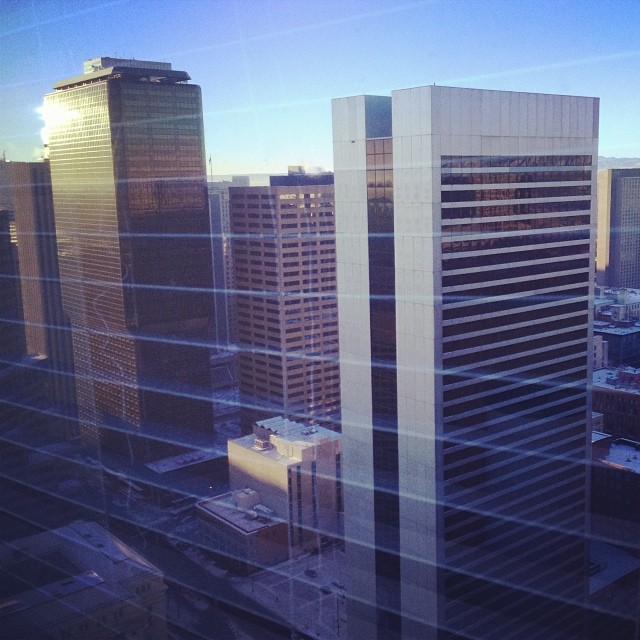 Good morning Denver! #SIA14 booth building day 1 here we go!