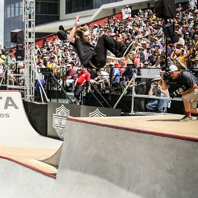 Bro, don't lose your lid…  Our World of #XGames Austin Festival Show is coming up at 3 pm ET/1 pm PT on ABC! (