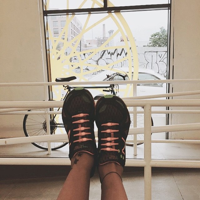 Our co-founder, Mariquel likes to start her weekend off with an early morning session @soulcycle. How do you like to start yours? #HICKIESfit #ReplaceTheLace