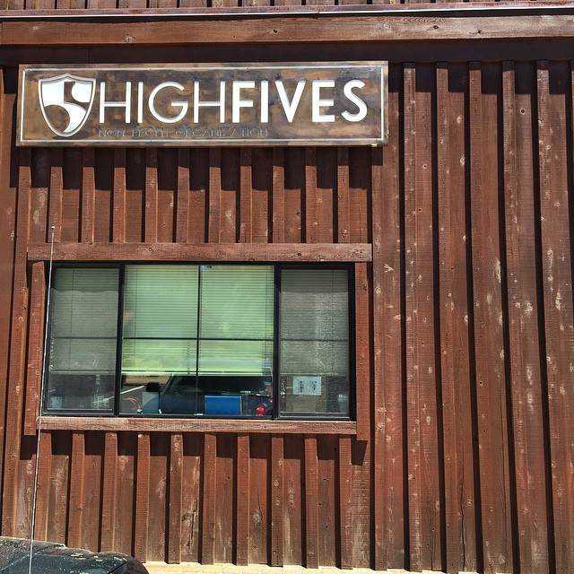 It's up! Stop by our facility M-S 8:00am-5:30pm and check out our new #highfivesfoundation signs. Thank you @parkcitysigns & @astewart121!