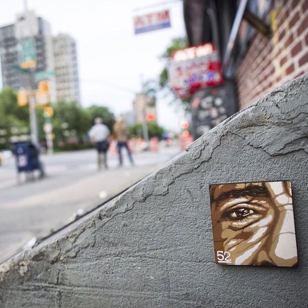 @g52cube #manhattan #neyyork • • #SPRATX #streetart #g52 #atx