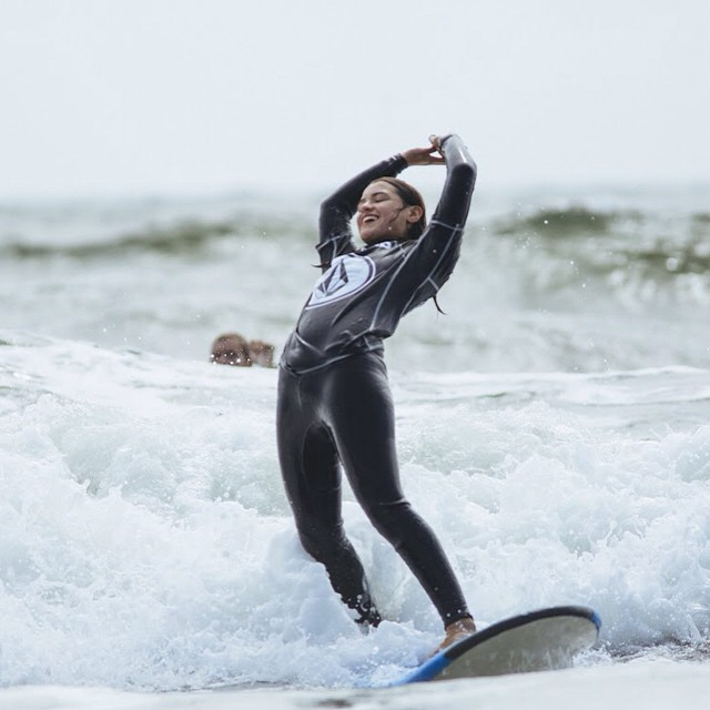 Another great #surf shot! #internationalsurfingday #surfer #surfergirl #surfboard #surfsup #surfing #ocean #water #waves #beach #swell #happiness #joy #smiles #challenge #hangten #determination #motivation #surflife #roxy #quiksilver #ridethewave...
