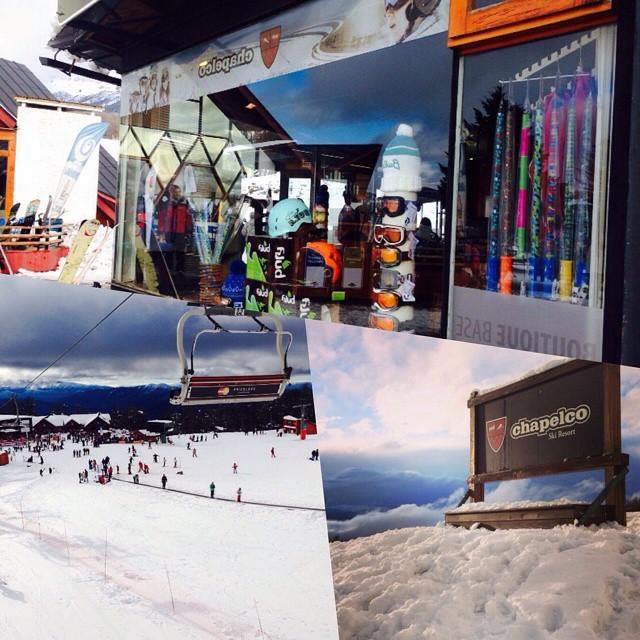 Hoy fue la tremenda inauguración del @cerro_chapelco !! Podes encontrar nuestros #ZephyrPole en la boutique del cerro!!