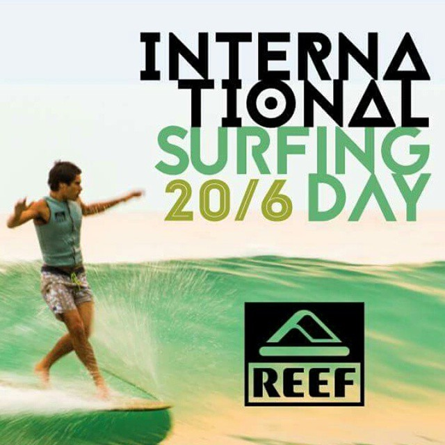 International Surfing Day - Celebremos el surf, respetemos el océano y cuidemos las playas. Protect and enjoy!