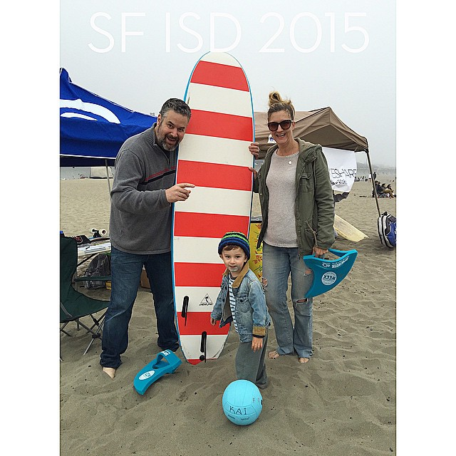 Meet our favorite SF Surfrider family. John, Will, & Eva protect & love Baker Beach. Follow their Ocean Conservation adventures @bakerbeachsf. #sfsurfrider #surfrider #ISD15 #ISD2015 #internationalsurfingday #stokedsfsurfridervolunteers #