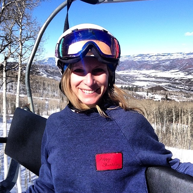 If you saw @rachshredgnar around the @xgames or @vailmtn with her @stzlife Happy Shredding Sweatshirt on, and we're stoked on it, you can purchase them on GoodPeople.com here:...