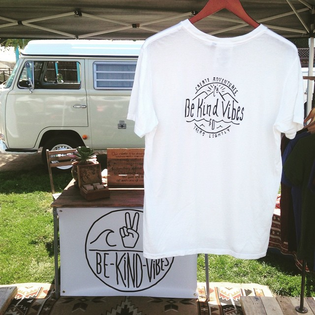 "We're introducing the new ""Conscious Adventurer"" tee at the Leucadia farmers market today, 10-2pm. Made in California from a blend of hemp and organic cotton. Designed by our good friend @doslucero"