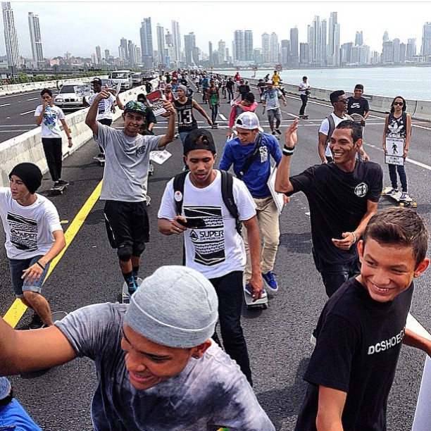The skaters of Panama are taking the #DCGlobalSkateJam to the streets! Repost from @bredio_alfaro. #DCShoes