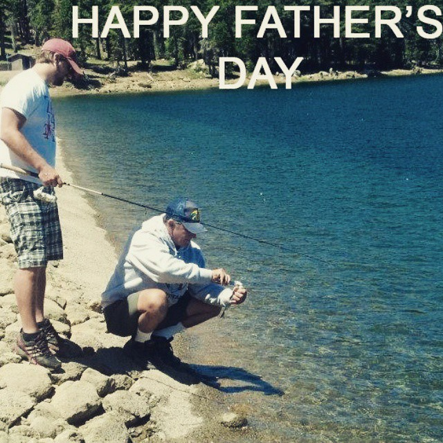 Happy Father's Day to all of those amazing Dad's out there! #FathersDay2015 #getoutdoors #graniterocx