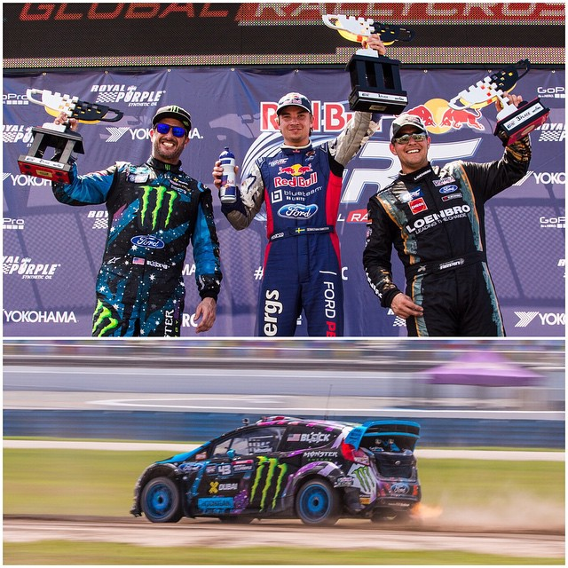 Got 2nd place at #GlobalRallycross Daytona today! A very, very hard fought second. I spent half my time defending my position and getting knocked around a lot in the gravel, so I couldn't chase first place until it was too late. But I'm still stoked to...