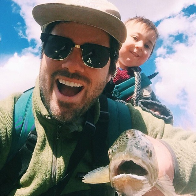 Whether you're out fishing or still eating breakfast in bed - this one's for you dads.. Happy Father's Day!  Shoutout to our good friend @drewhollenback of @tenkararodco for teaching #vanspam all about fishing, camping & the great outdoors!...