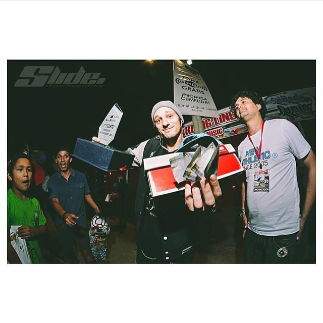 @thiagopingo faturou o Campeonato Profissional Skateboarding Line no  skatepark de Pueblo Libre em Lima, no Peru. Parabéns Pingo!!! #qixteam #qix #skate #skateboard #skateboarding #campeonato #Profissional #Lima #Peru #skateboardminhavida