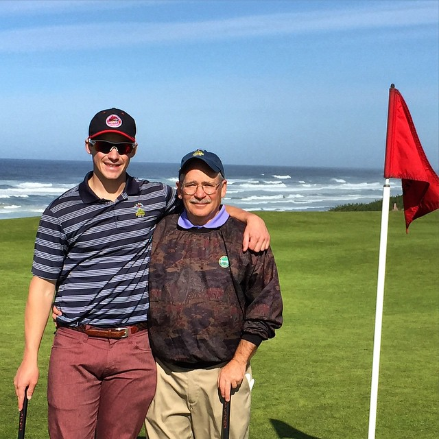 Happy Fathers Day to the best dad and golf partner I could ask for!