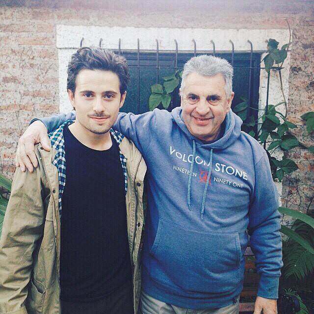 Santi & Esuardo Rossi #DialDelPadre #Padresembajadores #TrueToThis @santiagorossi